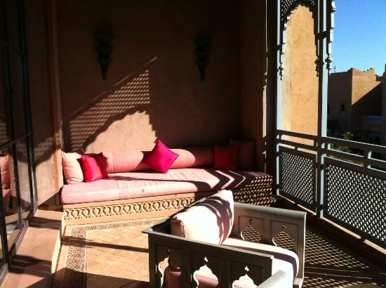Sahara Palace Marrakech : Verandah off the bedroom