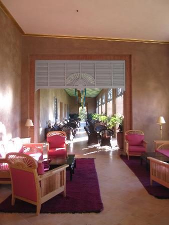 Sahara Palace Marrakech : Verandah outside of lounge