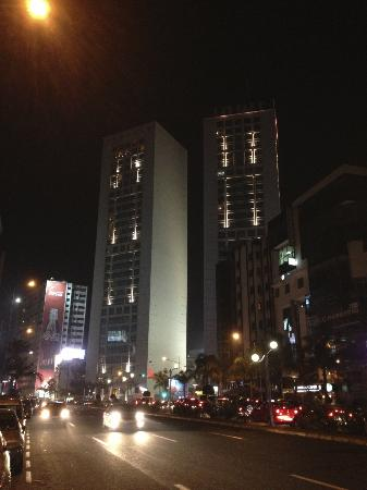 Kenzi Tower Hotel: Twin Towers, and nearby area of the hotel
