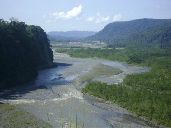Finca de la Vaca : Río Pastaza