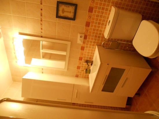 Casa Rural Lur Mendi: Baño