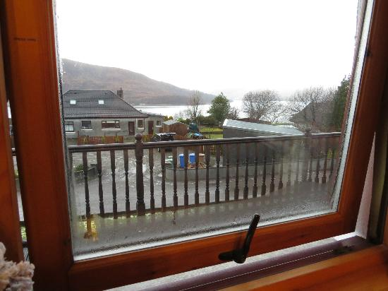 Gills View Bed & Breakfast : View from room overlooking the loch