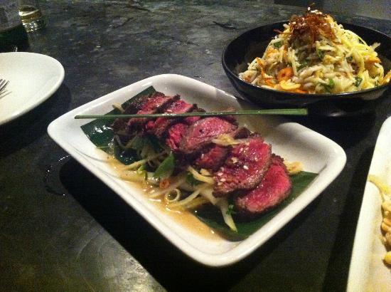 Bomra's: Raw Beef Salad