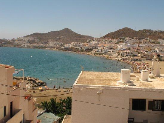 Hostal San Jose: Vista playa San José desde el balcón