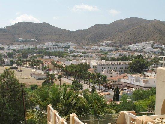 Hostal San Jose: Vista pueblo San José desde el balcón