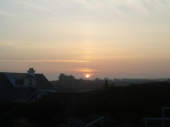 Trearddur Bay Hotel: view from balcony