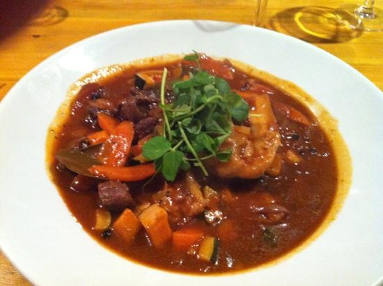 The Hollybush: Venison Stew with homemade dumplings