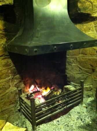 The Hollybush: 1 of the 3 cosy fires