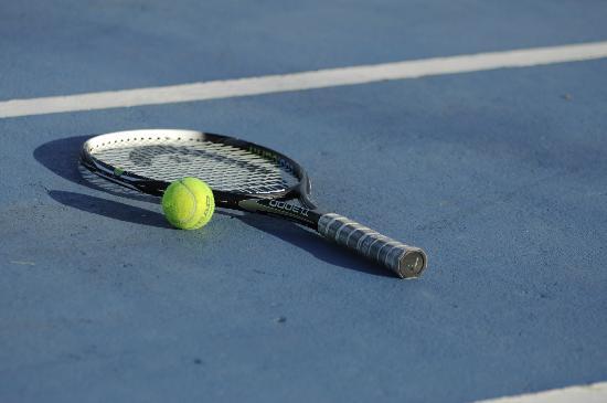 أرابي ثيرمال ريزورت آند سبا: Cancha de Tenis