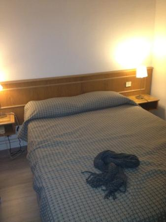 Hotel Le Compostelle Le Marai : my room
