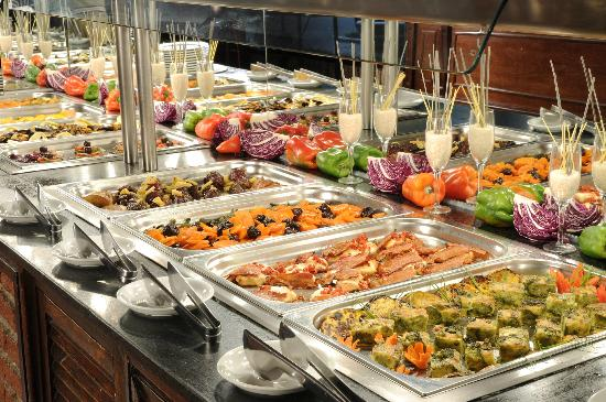 Arapey Thermal Resort and Spa: Buffet
