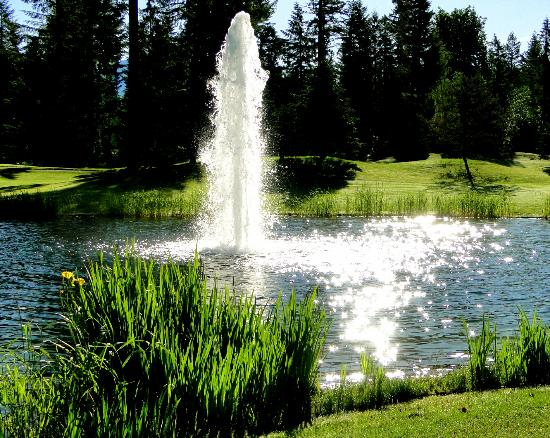 Cultus Lake, Canada: The legendary fountain
