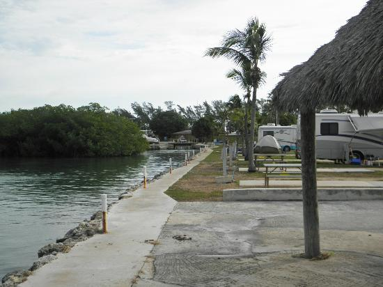 Fiesta Key RV Resort & Marina: Camping along the water