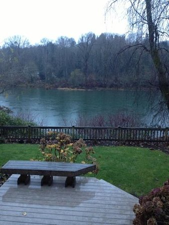 Lewis River Inn: view from my room