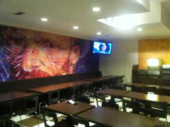 Hotel Van Gogh: comedor