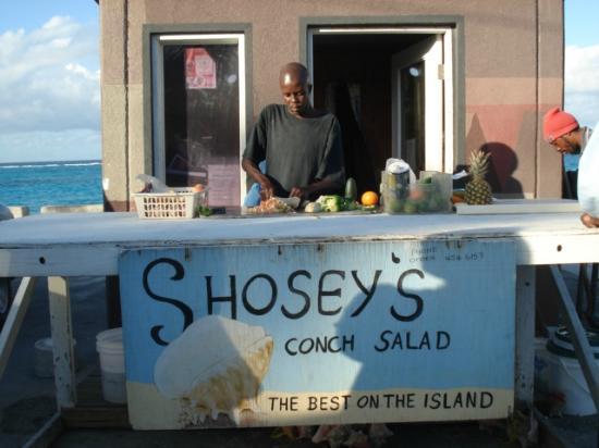Comfort Suites Paradise Island: Best conch salad