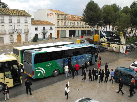 Hostal Nicol's: Estacion de Luque