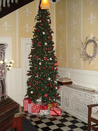 Frontenac Club Inn: Lobby Decorated For Christmas