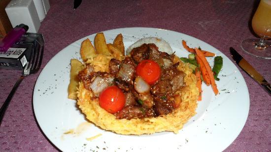 Panorama Restaurant : My 'Birdsnest' dinner, was absolutely amazing!