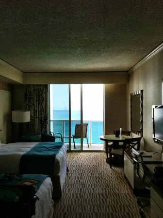 Trump International Beach Resort: Room view