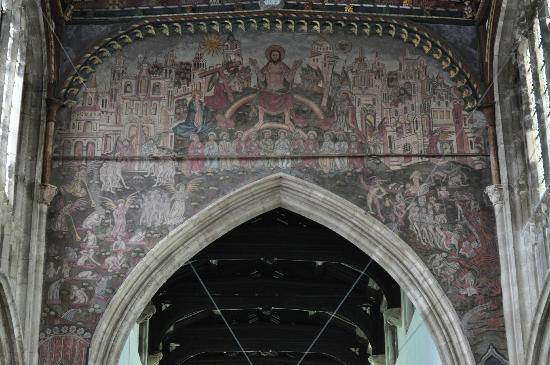 The Parish Church of St Thomas and St Edmund: The Doom painting