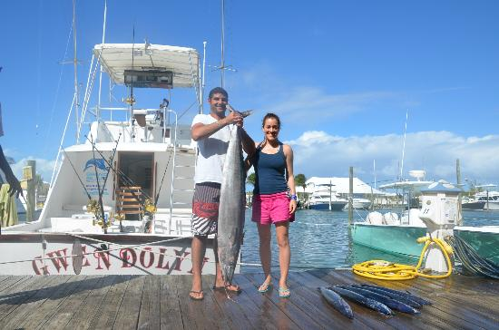Wahoo picture of grand slam fishing charters for Turks and caicos fishing charters