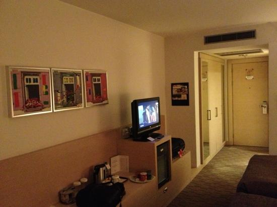 Crowne Plaza Hotel Ankara: standart room