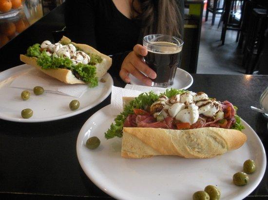 Luigi Zuckermann: Luigi's tasty sandwich's