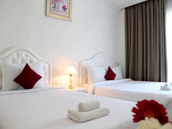 Bizu Boutique Hotel Phu My Hung: deluxe quad twin