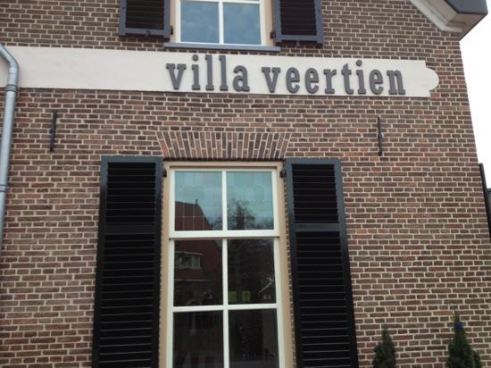 Villa Veertien: The front