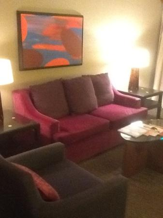 ‪‪Kimpton Hotel Palomar Washington DC‬: seating area