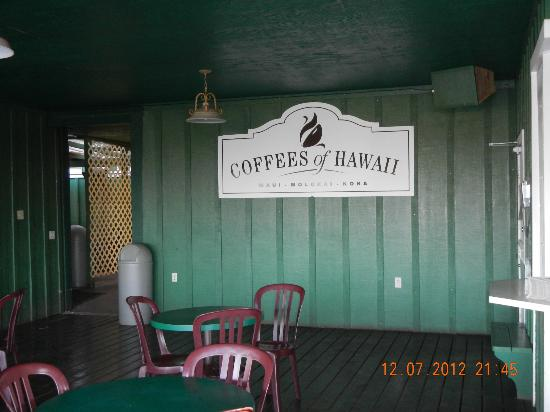 Coffees of Hawaii: Exterior Sign