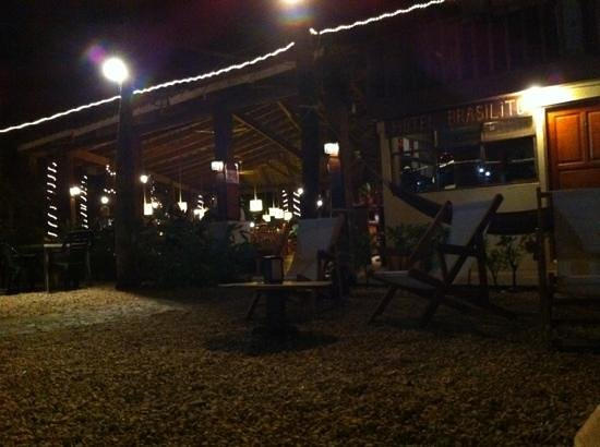 Hotel Brasilito: Terrace @ 6pm
