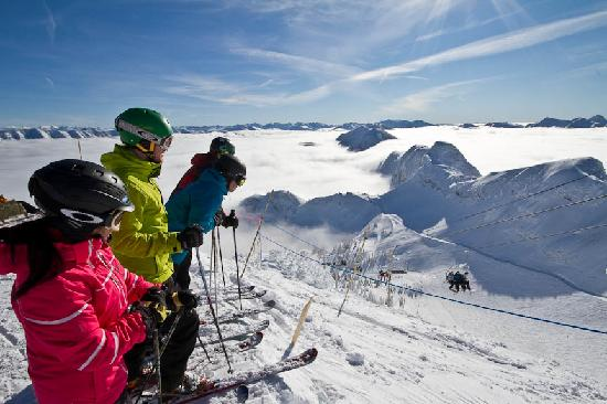 On top of the world at Fernie Alpine Resort!