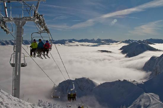 Fernie's newest addition- the Polar Peak Chair
