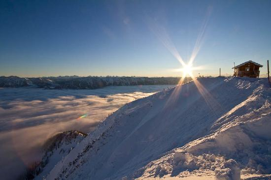 Sunrise over Fernie Alpine Resort