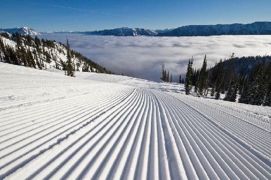 Fernie, Canadá: Perfect groomers