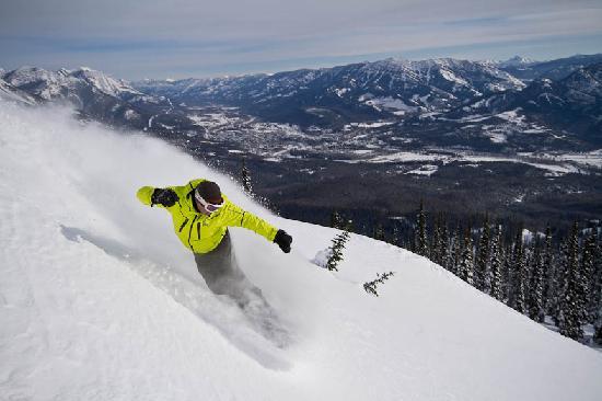 Fernie, Kanada: Snowboard heaven