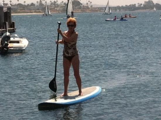 Bahia Resort Hotel: Paddle Boarding