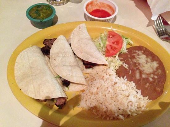 Cancun Grill: New York Strip Tacos
