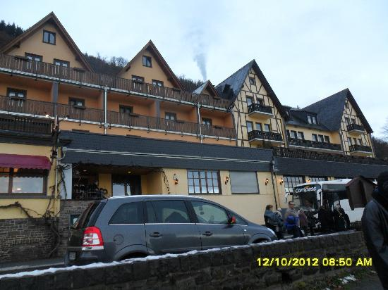 Brodenbach, Alemania: The Anker Hotel