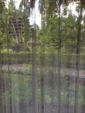 Tasik Ria Resort Manado: view from bedroom