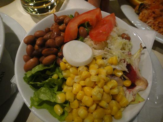 Gostilna in pizzerija Jurman: Salad that looks very delicious