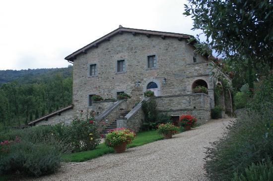 Castiglion Fiorentino, İtalya: Main Villa