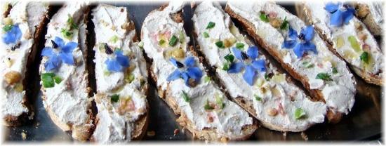 Ristorante Agrituristico Il Colibri: Crostini alla crema di tofu