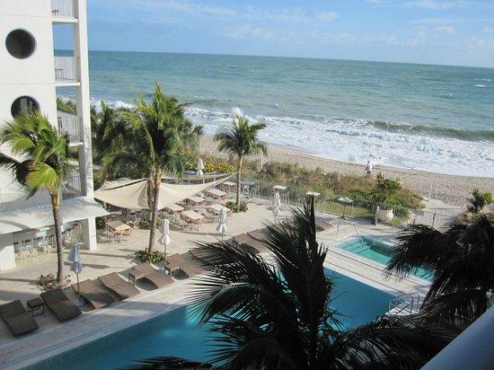 On The Balcony Picture Of Costa D Este Beach Resort Spa Vero