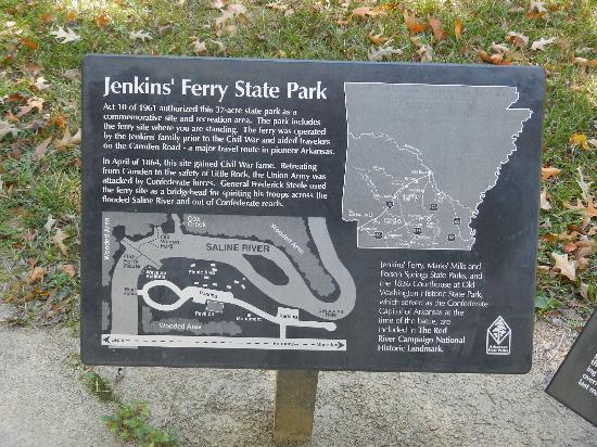 Battle Of Jenkins Ferry Memorial: Jenkins Ferry Memorial