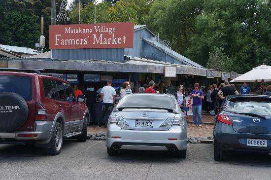 Matakana Village: Matakama Farmers market