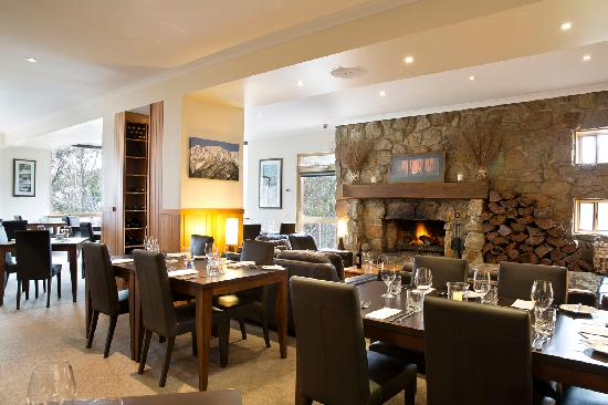Summit Ridge Alpine Lodge: Restaurant and Lounge