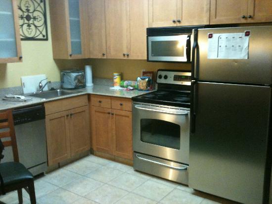 Residence Inn San Antonio North/Stone Oak : Kitchen